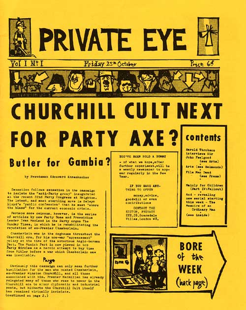 Private Eye-1961